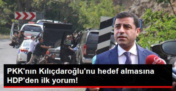 HDP, Kemal Kılıçdaroğlu'na Yapılan Saldırıyı Kınadı