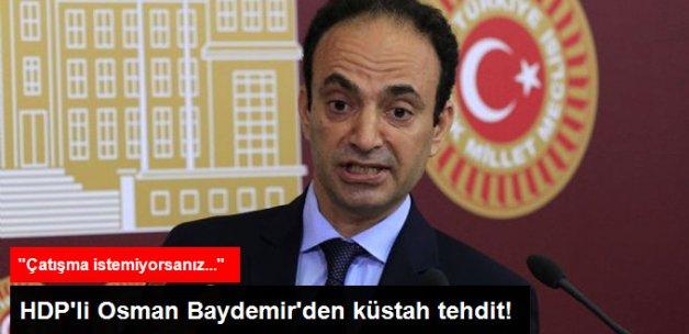 HDP'lı Baydemir: Çatışma İstemiyorsanız Öcalan'ıın Tecridine Son Verin
