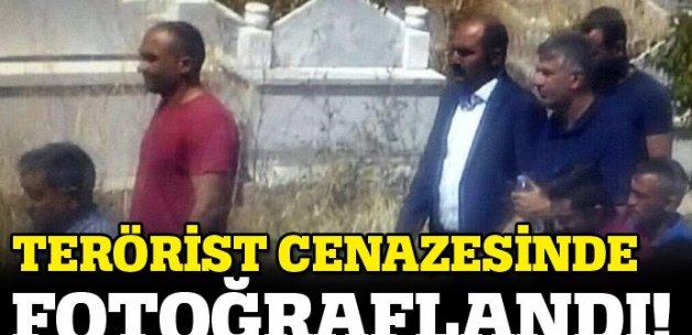 HDP'li vekil PKK'lı cenazesinde böyle görüntülendi