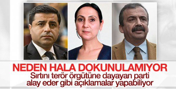 HDP'ye göre bilinmeyen birileri terör işliyor