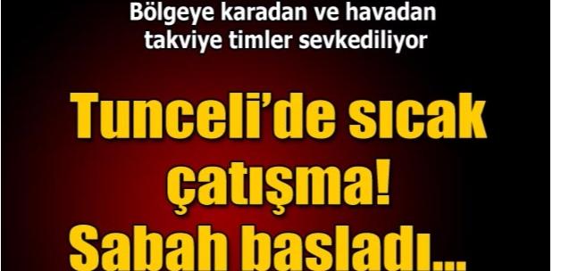 Hozat'ta PKK karakola saldırdı