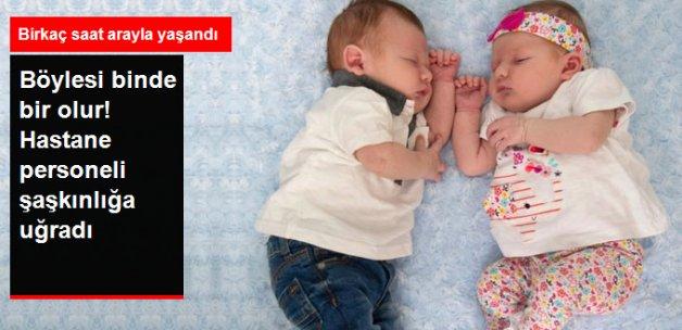 İkiz Kız Kardeşler Art Arda Doğum Yaptı