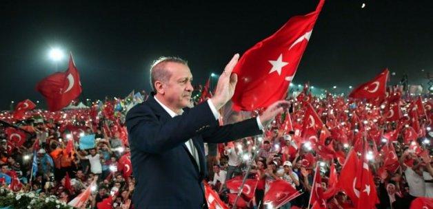'İlk kez kendimi Erdoğan'a yakın hissetim'