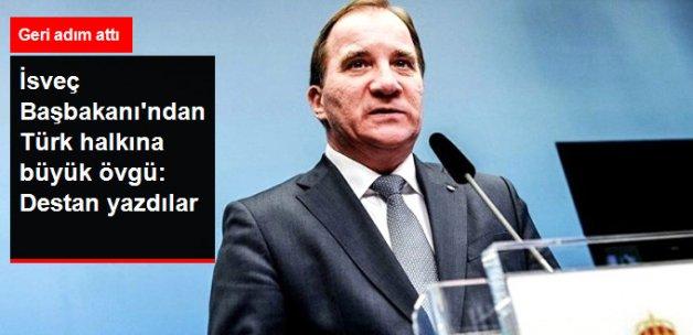 İsveç Başbakanı'ndan Türk Halkının Demokrasi İnancına Övgü
