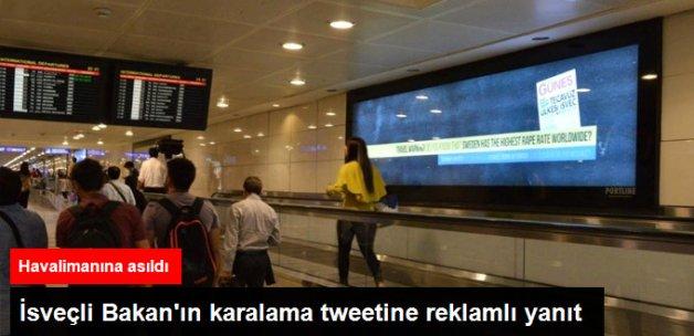 İsveçli Bakan'a Reklamlı Cevap