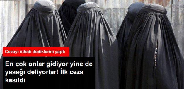 İsviçre'de Burkaya İlk Para Cezası Kesildi