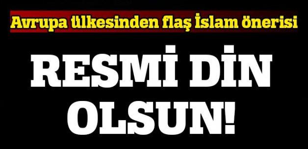 İsviçre'de 'İslam resmi din olsun' önerisi