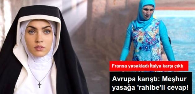 """İtalya Katolik Kilisesi'nden Haşema Tepkisi: """"Rahibelerin de Başörtüsü Var"""""""