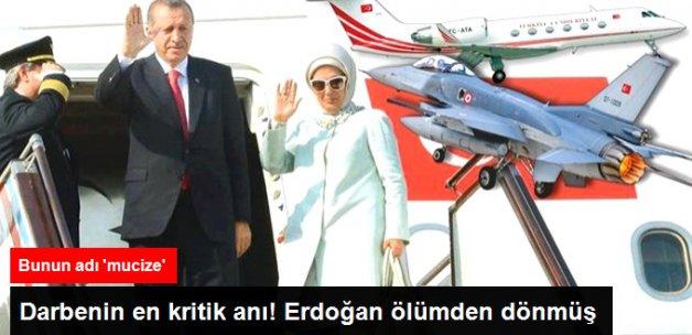 Kader Anı! F-16 Erdoğan'ın Uçağını Vuracakmış Ama Yakıtı Bitmiş