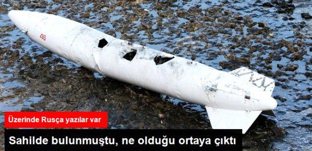 Kandıra Sahilinde Bulunan Cisim, Rus Gemisinin Yakıt Deposu Çıktı