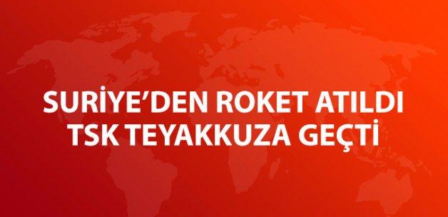 Karkamış'a Roket Düştü, TSK Anında Karşılık Verdi