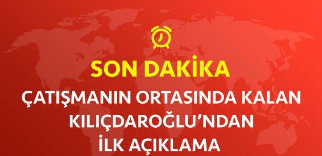Kılıçdaroğlu: Benim Açımdan Sorun Yok, Çatışmanın Ortasında Kaldık
