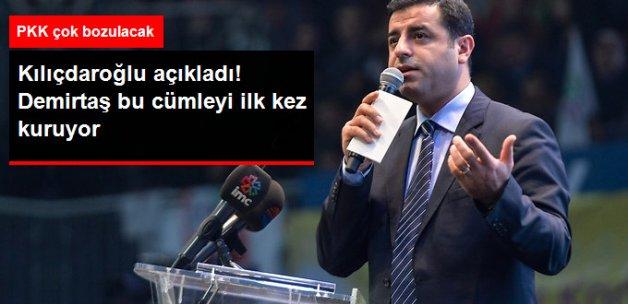 Kılıçdaroğlu: Demirtaş Beni Arayıp 'Terörü Lanetliyorum' Dedi