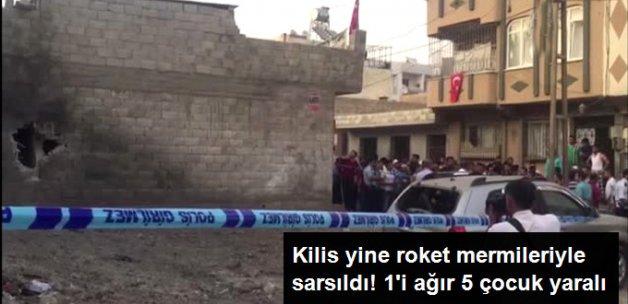 Kilis'e Yine Roket Düştü: 5 Çocuk Yaralı