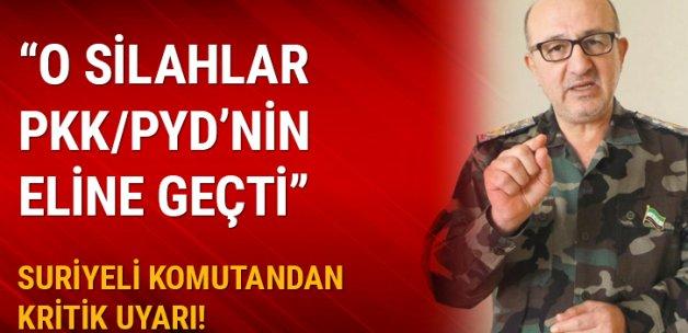 'Kimyasal silahlar PKK/PYD'nin elinde'