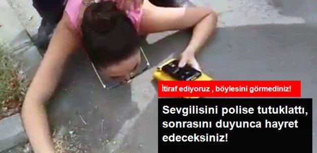 Kız Arkadaşını Sahte Polise Tutuklattı