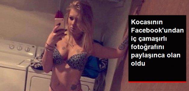 Kocasının Facebook'una Koyduğu Selfie Sadakatsizliğinin İfşası Oldu