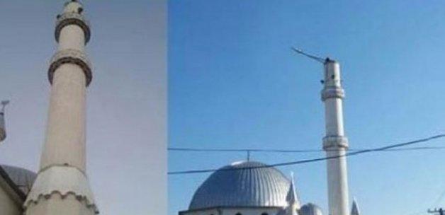Kosova'da cami minaresini yıkan Sırp tutuklandı