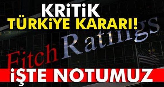 Kritik Türkiye kararı!