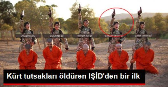 Kürt Tutsakları Öldüren IŞİD, İlk kez Batılı Çocuk Kullandı