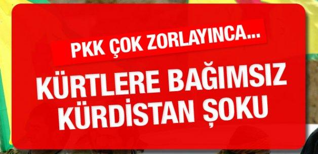 Kürtlere 'bağımsız Kürdistan' şoku! PKK çok zorladı...