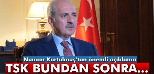Kurtulmuş: 'Türkiye'yi işgale hazır hale getirmek istediler'