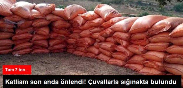 Mardin'de PKK Sığınağında 7 Ton Amonyum Nitrat Ele Geçirildi