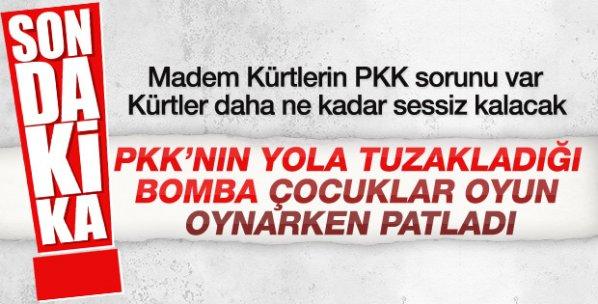 Mardin Nusaybin'de patlama: 6 yaralı