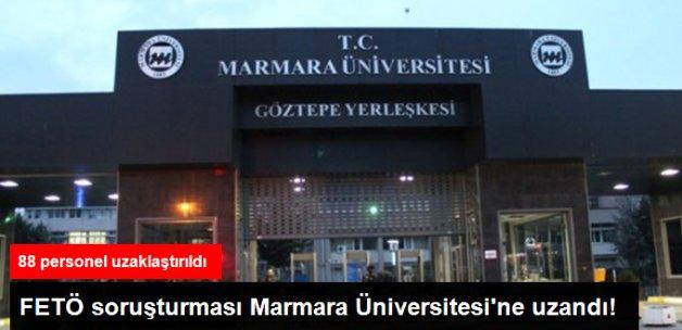 Marmara Üniversitesi'nden 88 Personel Uzaklaştırıldı