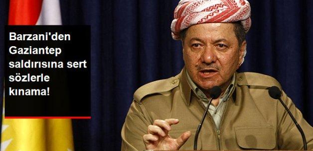 Mesud Barzani Gaziantep Saldırısını Kınayan Bir Açıklama Yaptı
