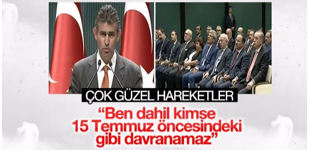 Metin Feyzioğlu Cumhurbaşkanlığı Külliyesi'ne gitti