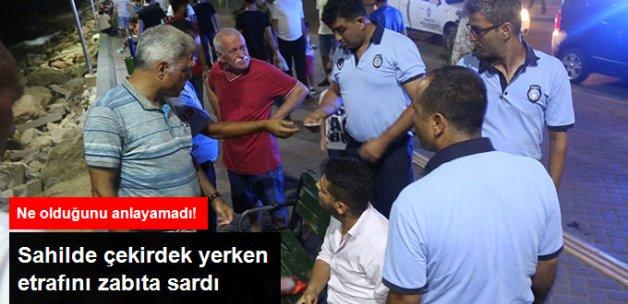 Mezitli'de Yere Çekirdek Kabuğu Atanlara 35 Lira Ceza