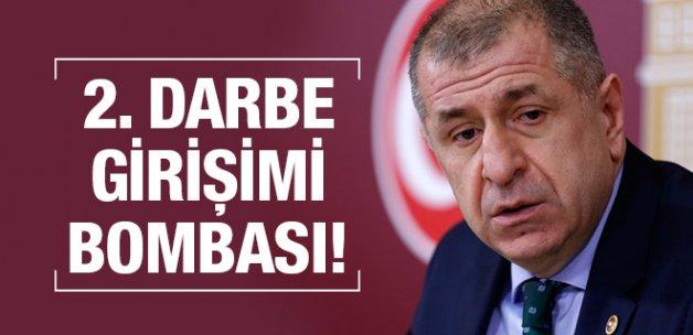 MHP'li Özdağ'dan bomba ikinci darbe girişimi iddiası!
