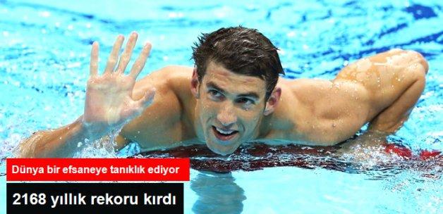 Michael Phelps, Rodoslu Leonidas'ın 2168 Yıllık Rekorunu Kırdı