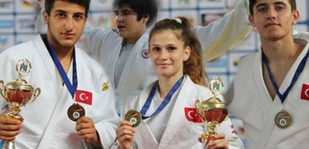 Milli judoculardan 4 bronz