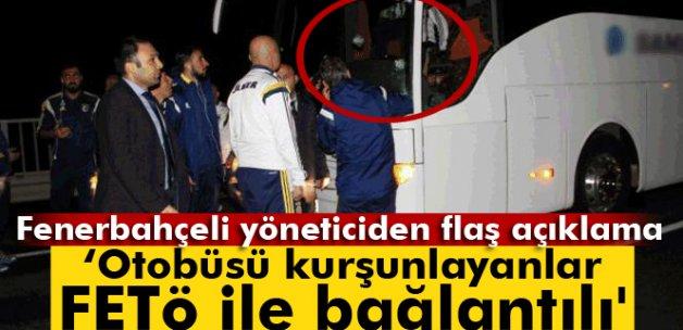 Mosturoğlu: 'Takım otobüsünü kurşunlayanlar FETÖ ile bağlantılı'