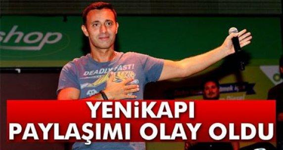 Mustafa Sandal'ın Yenikapı paylaşımı olay oldu