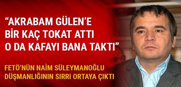 Naim Süleymanoğlu: Akrabam Gülen'e tokat attı, o da kafayı bana taktı