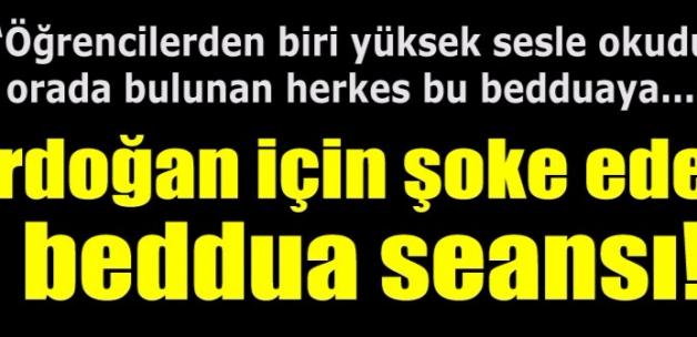 """Namazlardan sonra Erdoğan'a toplu """"beddua"""" etmişler"""
