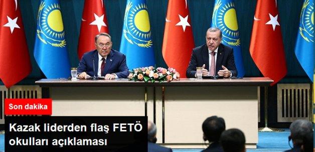 Nazarbayev: FETÖ İlişkisi Tespit Edilirse Öğretmenleri Göndeririz