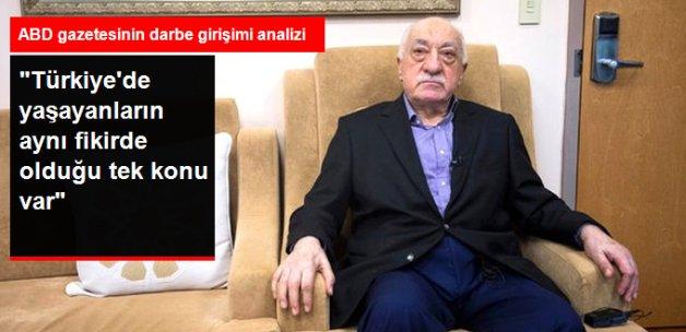 New York Times: Türkler Darbe Girişiminde ABD'nin Parmağı Olduğunda Hemfikir