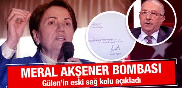 Nurettin Veren Meral Akşener bombasını patlattı