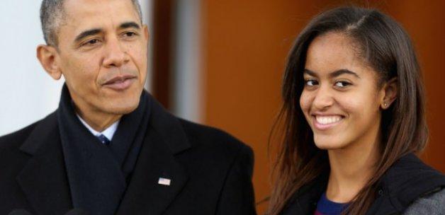Obama'nın kızı esrar içerken görüntülendi