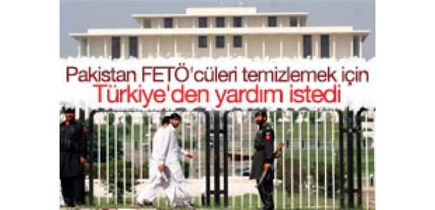 Pakistan, FETÖ için Türkiye'den yardım istedi