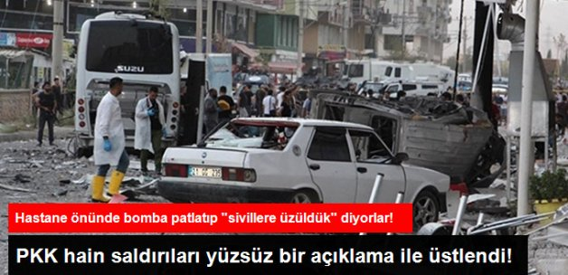 PKK Hain Diyarbakır ve Kızıltepe Saldırılarını Yüzsüz Bir Açıklama İle Üstlendi