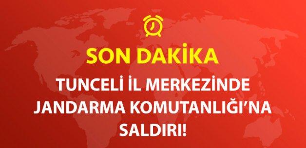 PKK'lılar Jandarma Tabur Komutanlığı'na Saldırdı