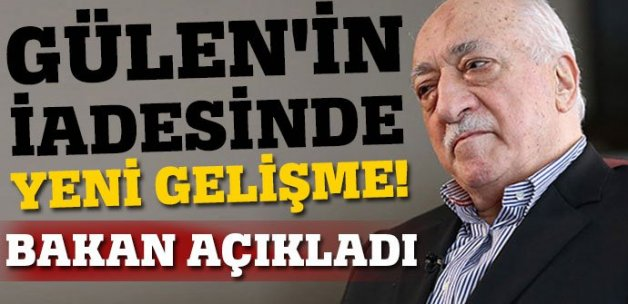 Recep Akdağ: İşaretler Gülen'i iade edecekleri yönünde