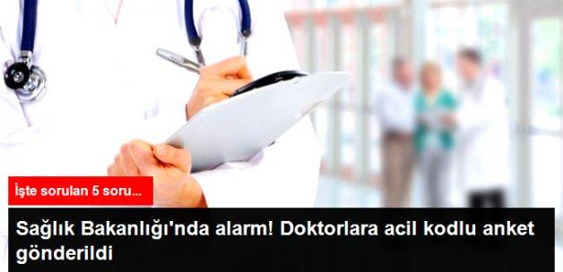 Sağlık Bakanlığı'ndan Aile Hekimlerine FETÖ Anketi