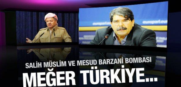 Salih Müslim ve Barzani bombası meğer Türkiye...