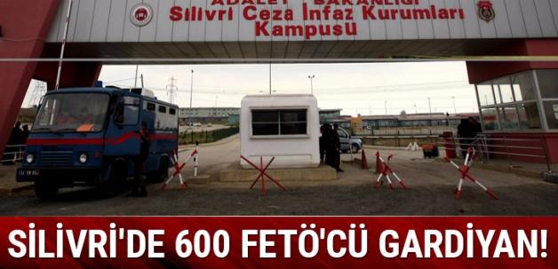Silivri'de 600 FETÖ'cü gardiyan!